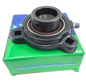 "KML Mounted Bearing SARFT206-22 1-3/8"" Triangle Flange Eccentric Lock Collar"