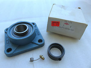 "B1- High Quality HCFS206-20 1-1/4S"" 4 Bolt Flange Bearing Eccentric Collar Lock"