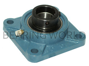 "HCFS206-18 High Quality 1-1/8"" Eccentric Locking Collar 4-Bolt Flange Bearing"
