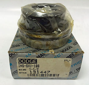 DODGE 131477 INS-SXV-108 ECCENTRIC COLLAR BALL BEARING SERIES 208 1-1/2""