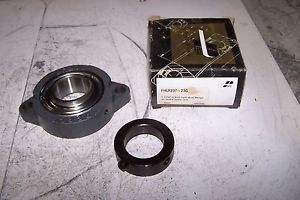 PEER FHLF207-23G 2 BOLT FLANGE BEARING ECCENTRIC LOCKING COLLAR BORE 1-7/16""