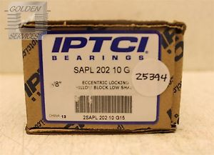 IPTCI SAPL 202 10 G Eccentric Locking Pillow Block Low Shaft 5/8""
