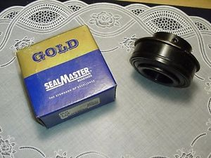 "Sealmaster ER24 Wide Inner Ring Ball Bearing 1-1/2"" ID 80 mm OD 701068 Set Screw"