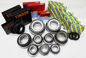 Alfa Romeo 159 1.9 M32 Gearbox Bearing Kit Timken SNR 9 Bearings 4 Seals