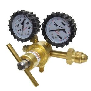 Uniweld RHP400 Nitrogen Regulator with 0 00 PSI Delivery Pressure Inlet