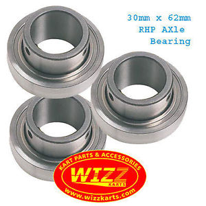 RHP Set of 3  30mm x 62mm Axle Bearing FREE POSTAGE WIZZ KARTS