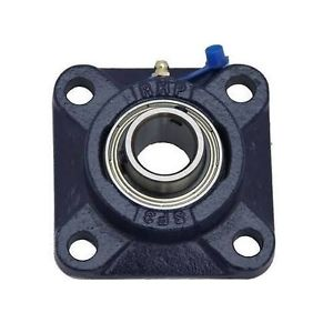 """SF1-3/4 1-3/4"""" Bore NSK RHP 4 Bolt Square Flange Cast Iron Bearing"""