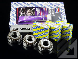 Opel M32 6 speed Gearbox 3 x uprated SNR 62mm top casing bearings