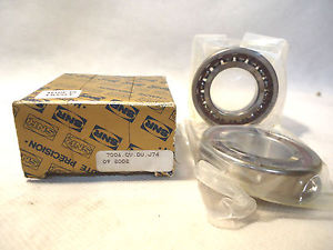 SET OF 2 SNR 7006.CV.DU.J74 SUPER PRECISION BEARING