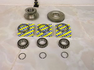 Fiat M32 Gearbox 6th gears 27/44 th and uprated SNR top casing bearings