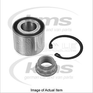 WHEEL BEARING KIT MERCEDES A-CLASS (W168) A 160 CDI (168.006) 75BHP Top German Q