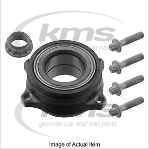 WHEEL BEARING KIT Mercedes Benz E Class Convertible E500BlueEFFICIENCY A207 4.7L
