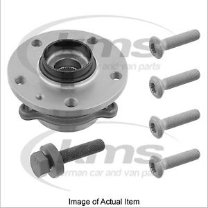 WHEEL HUB INC BEARING Audi TT Coupe TFSi 200 8J (2006-) 2.0L – 197 BHP Top Germa