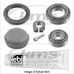 WHEEL BEARING KIT Mercedes Benz C Class Estate C220CDI BlueEFFICIENCY S204 2.1L