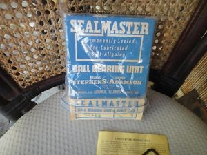 Sealmaster SF-12 Ball Bearing Unit, shaft size 3/4""