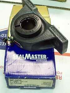 "SEALMASTER NP-16TC PILLOW BLOCK BALL BEARING 1"" BORE"