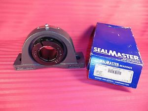 Sealmaster NP-23T Pillow Block Ball Bearing, Non-Expansion Type, Normal-Duty, Re
