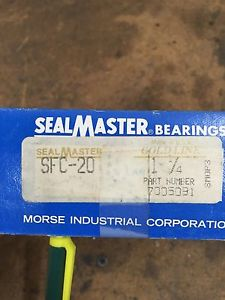 SEALMASTER SFC-20,  7005091 MOUNTED BALL BEARING, FLANGE CARTRIDGE