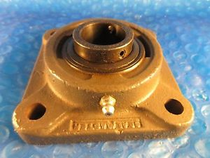 "Sealmaster SF19 Setscrew Locking 4-Bolt Flange, 1 3/16"" Shaft, I=2-13, H=F-505"