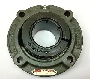 "SEALMASTER SFC-34T PILOTED 4-BOLT FLANGE MOUNTED BEARING 2-1/8"" BORE 705472"