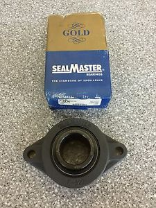 IN BOX SEALMASTER SFT30 2-BOLT FLANGE BEARING 1-7/8 BORE SFT-30
