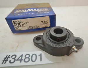 Sealmaster SFT-10 Mounted Ball Bearing (Inv.34801)