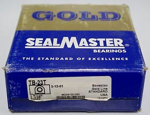 "in Box Sealmaster TB-23T  1 7/16"" Pillow Block Bearing   ***"