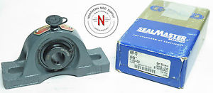 "SEALMASTER NP-10 PILLOW BLOCK BEARING, 5/8"" (.625"") BORE, SET SCREW COLLAR"