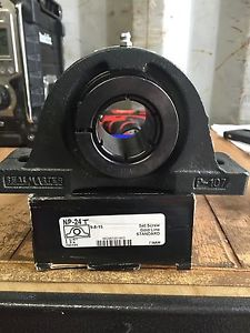 "NP-24T Sealmaster 1-1/2"" Pillow Block Bearing , HCP208-24 NP24T Locking Collar"