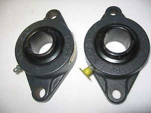 "Lot of 2) Seal Master SFT-20R 1-1/4"" 2-Hole Flange Mount Bearing Assembly"