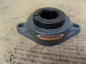 "SealMaster Two Bolt Flange Bearing SFT-23T SFT23T 1 7/16"" Bore New"