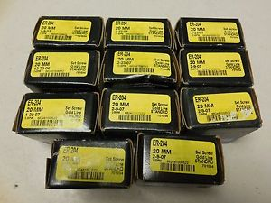 LOT OF 11 SEALMASTER ER-204 20MM GOLD LINE BEARING  IN BOX (A13)
