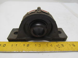 "Sealmaster NPL15 15/16""Bore Dia Ballbearing Non-Expansion Pillow Block"