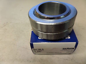 "SealMaster Heavy Duty Spherical Two Piece Bearing BH 28LS BH28LS 1 3/4"" ID New"