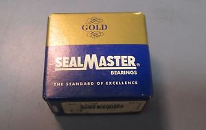 "SealMaster Gold Line 2-08 Bearing Insert 1/2"" x 47mm x 5/8"" Outer Ring Width NIB"