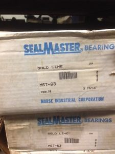 Sealmaster MST-63 Take-Up Bearing Unit, Medium Duty, 3 15/16""