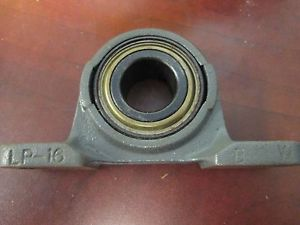 "SealMaster Pillow Block Bearing LP-16 Shaft Size 1"" New Surplus"
