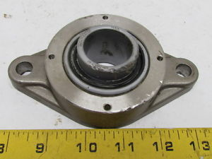 "SealMaster BFT-20RS 2-Bolt Stainless Steel Flange Mount Bearing 1-1/4"" Bore"