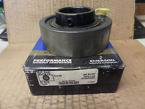 SealMaster Ball Bearing Cartridge Unit SC-210 SC210 50mm Bore New
