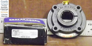 1  SEALMASTER SFC-23T FLANGE BEARING ***MAKE OFFER***