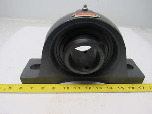 "SEALMASTER BEARING MSPD-39 2-7/16"" ID 2 Bolt Pillow Block Bearing Assy"