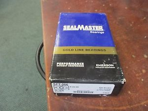 Sealmaster Gold Line Flange Ball Bearing SFT-206 Size: 30mm New Surplus