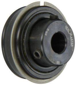 Sealmaster ER-8 Cylindrical OD Bearing, Setscrew Locking Collar, Light Contact