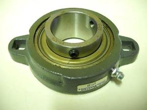 "Sealmaster LFT-23 2 bolt flange bearing 1-7/16"" Bore New"