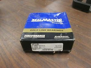 """SealMaster Gold Line Flange Ball Bearing MFC-20 Size: 1-1/4"""" New Surplus"""