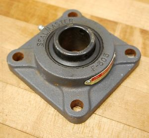 Sealmaster SF-206, 30mm ID 4-Bolt F-505 Flange Block –