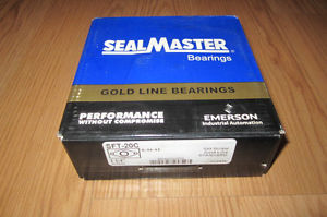 "SealMaster SFT-20C 1.25""2 Bolt Bolt Flange Set Bearing,  IN BOX!  MSRP $279"
