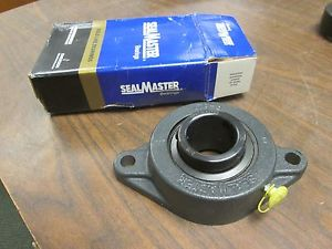 "SealMaster Gold Line Flange Ball Bearing SFT-24 1-1/2"" New Surplus"