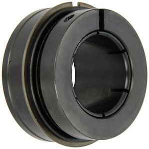 Sealmaster ER-207TMC Cylindrical OD Bearing, Skwezloc Collar, Contact Rubber
