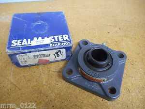 Seal Master SF-205 4 Bolt Flange Bearing 25mm New Old Stock